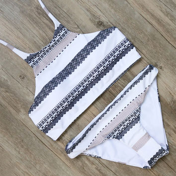 Amira Boho Patterned Bikini
