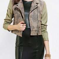 Urban Outfitters - MINKPINK Magic Carpet Biker Jacket