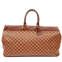 Louis Vuitton Damier Gm Greenwich Boston Travel 4768