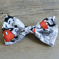 Disney, Disney Bow, Mickey Mouse Bow, Mickey Mouse Tie, Kids Bow Tie, Minnie Mouse, Hairbow, Mens Bow Tie, Toddler Bow Tie, Hair Accessories