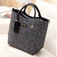 Stylish Bags Vintage Simple Design Tote Bag Shoulder Bag [8921703303]