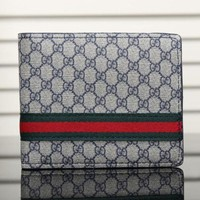 Gucci Fashion Man Leather Purse Wallet