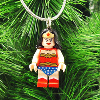 DC series Wonder Woman Christmas Tree Ornament, Stocking Stuffer, gift