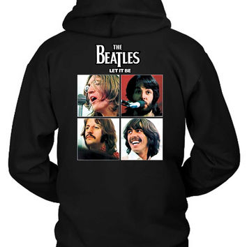 The Beatles Let It Be Hoodie Two Sided