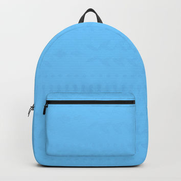 Maya Blue Backpack by deluxephotos
