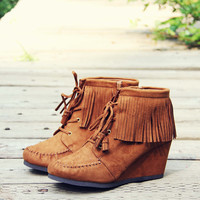 Wild & Wander Moccasins in Brown