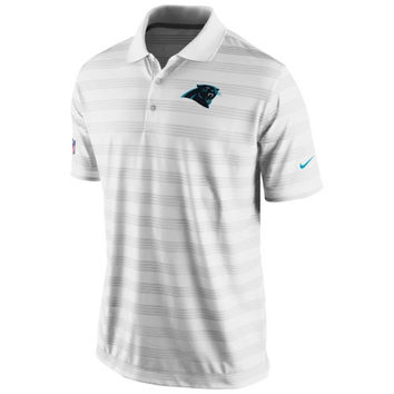 Carolina Panthers Nike Preseason Performance Polo – White