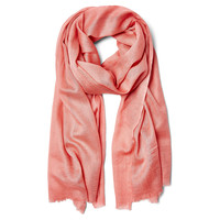 Wool/Silk Solid Scarf, Candy, Scarves