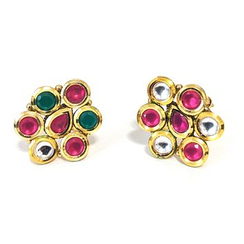 Kundan stone designer adjustable Finger ring