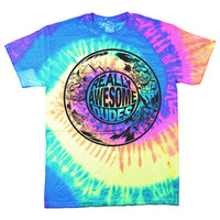 Really Awesome Dudes T-Shirt (Tie Dye)