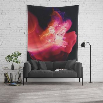 Baby, Hold on to me Wall Tapestry by duckyb