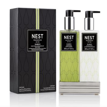 Bamboo Soap & Lotion Set by Nest
