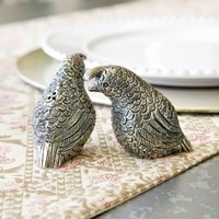 Quail Salt & Pepper Shakers