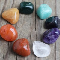 Chakra Stones Set 8 Healing Crystals for Working With Your Chakras