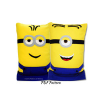 Minions Fleece Pillow Case Pattern