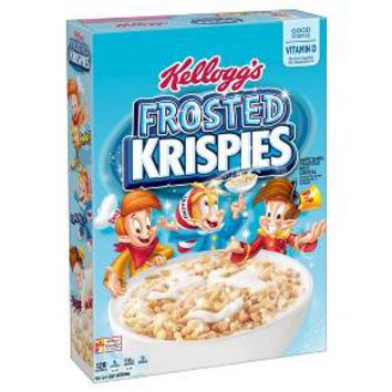 Frosted Rice Krispies Cereal -12.5 oz - Kellogg's