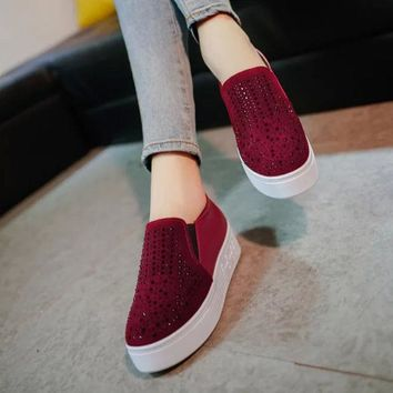 DCCK0OQ Hot Deal On Sale Stylish Comfort Hot Sale Casual Winter Vans Thick Crust Shoes Flats Sneakers [9432943306]