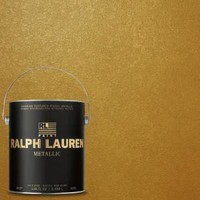 Ralph Lauren, 1-gal. Parlor Gold Metallic Specialty Finish Interior Paint, ME138 at The Home Depot - Mobile