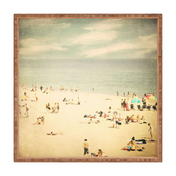 Shannon Clark Vintage Beach Square Tray