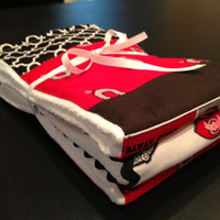 OSU Buckeye Burp Cloth 3 pack