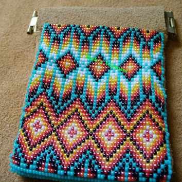 Native American inspired Coin purse