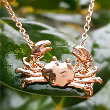 Maryland Crab Necklace