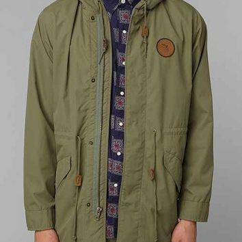 Dark Seas Rum Runner Fishtail Jacket- Green S