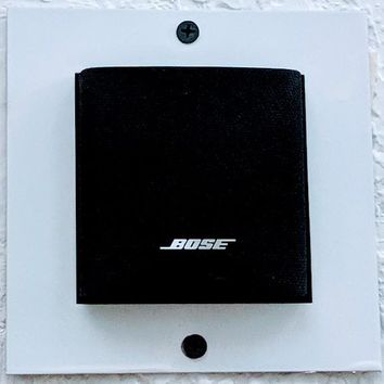 Bose Speaker Brackets Mount (Set of 5 White) Bose Cube Speaker