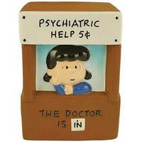 Lucy's Psychiatrist Booth - Peanuts Cookie Jar