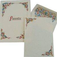 Italian Florentia Stationery Set