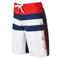 Budweiser Striped Board Shorts