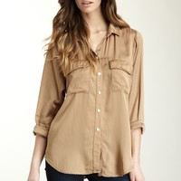 HauteLook | Boy Meets Girl: Cloth & Stone Patch Pocket Button Down