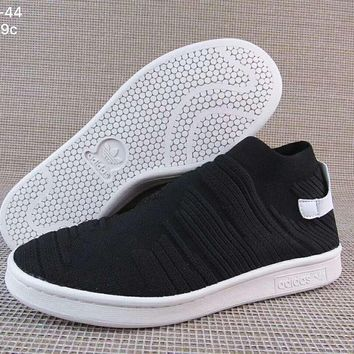 Adidas Originals Stan Smith Sock Trending Running Sports Shoes H-A36H-MY