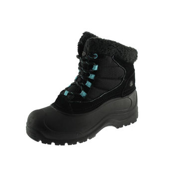 Northside Womens Fairmont II Suede Lined Insulated Boots