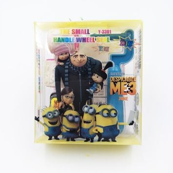 Sale Minions Cartoon Seal Stamps Children Toy Party Favor Painting Template DIY Supplies Gifts Party Products Children