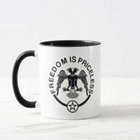 Freedom is Priceless Mug. Mug