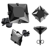 The Square Stud Earring 2