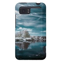 Turquoise Serenity HTC Vivid Case from Zazzle.com