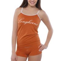 Texas Longhorns Women's Allover Print Boyshorts & Cami Pajama Set – Burnt Orange