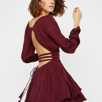 Free People Much Ado Mini Dress