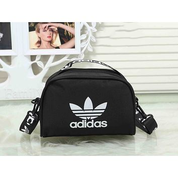 Adidas Trending Women Men Stylish Canvas Sports Crossbody Satchel Shoulder Bag Black I-XS-PJ-BB
