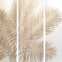 Palm Garden Panel | Wood Panels | Art | Z Gallerie
