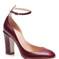 Tango Leather Mary-Jane Pumps by Valentino - Moda Operandi