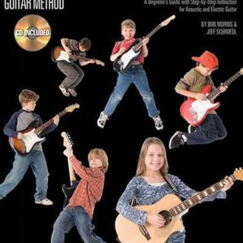 DCCKB62 Guitar for Kids: A Beginner's Guide with Step-by-Step Instruction for Acoustic and Electric Guitar