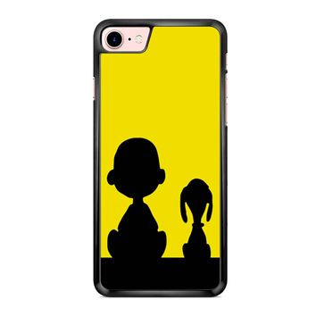 Snoopy And Charlie Brown Sunset iPhone 7 Case