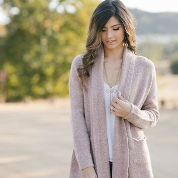 Margot Dusty Pink Cardigan