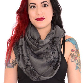 All-A-Flutter Infinity Scarf