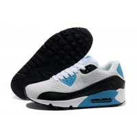 Men s Women s Nike Air Max 90 PRM EM Running Shoes White Black Jade