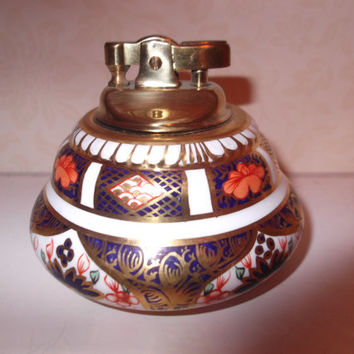 Royal Crown Derby Imari 1128 Table Lighter -  REDUCED