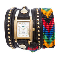 Black Rainbow Guatemalan Wrap Watch | TOMS